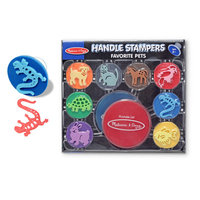 Melissa & Doug Handle Stampers - Favorite Pets