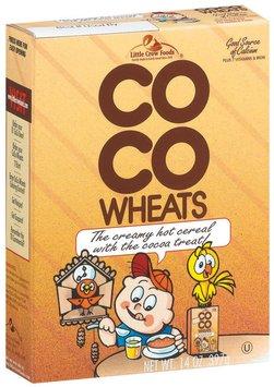 Coco Wheats Cocoa Hot Cereal 14 Oz Box