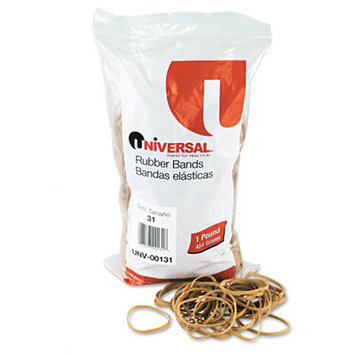 Universal Office Products Rubber Bands Universal Boxed, Size 31