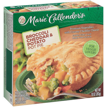 Marie Callender's® Broccoli Cheddar & Potato Pot Pie 10 oz. Box