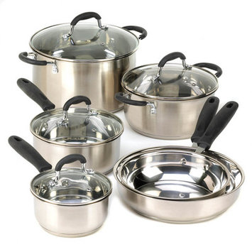 Zingz & Thingz 57071237 Stainless Steel Cookware Set