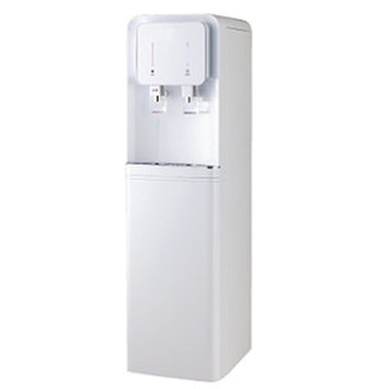 Drinkpod USA Water Cooler with 1 Micron Twist Filter Color: White