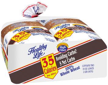 Healthy Life® Whole Wheat Whole Grain Bread 2-16 oz. Bags