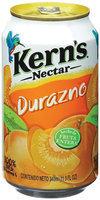 Kern's Mexico Peach Nectar 11.5 Oz Can