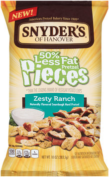 Snyder's of Hanover® Zesty Ranch Pretzel Pieces 10 oz. Bag