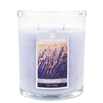 Fragranced in-line Container CC022.1342 22oz. Oval French Lavender Candles