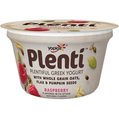 Yoplait® Plenti™ Greek Raspberry Low Fat Yogurt
