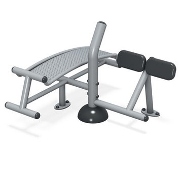 Ultra Play Inground Sit-Up/Back Extension UP168S