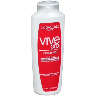 L'Oréal® Paris Vive Pro Color Vive Hi-Gloss Conditioner for Color-Treated Hair 13 fl. oz. Bottle