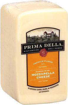 Prima Della™ Distinctive Deli Foods Low Moisture Part Skim Mozzarella Cheese Half Loaf