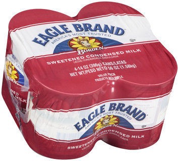 Eagle Brand® Sweetened Condensed Milk 4 Ct Cans
