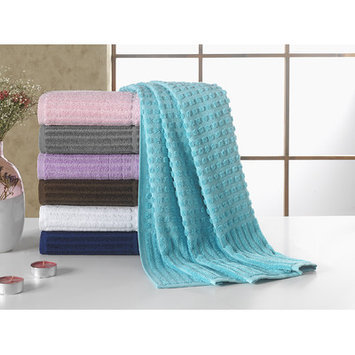 Berrnour Home Piano Bath Towel Color: Aqua Blue