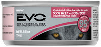 EVO 95% Beef Dog Food 5.5 oz. Can