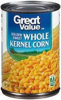Great Value™ Golden Sweet Whole Kernel Corn 15.25 oz. Can