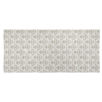 Wildon Home Diana Beach Towel Color: Gray