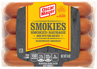 Oscar Mayer Smokies Smoked Sausages 8 ct Pack