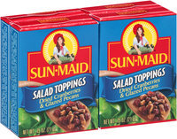 Sun-Maid® Dried Cranberries & Glazed Pecans Salad Toppings 4-0.75 oz. Boxes