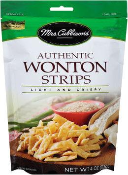 Mrs. Cubbison's® Authentic Wonton Strips 4 oz. Pouch