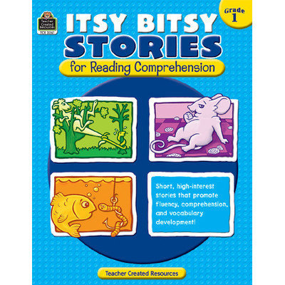 Teacher Created Resources 3261 Itsy Bitsy Stories for Reading Comprehension Grade 1