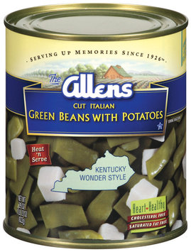 The Allens Cut Italian Green Beans W/Potatoes 29 Oz Can