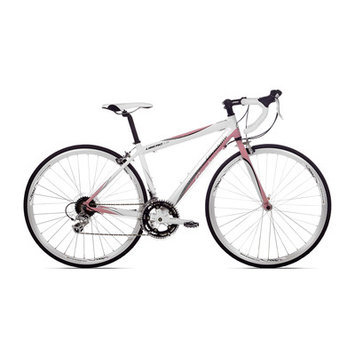 Kent Intl 12717 Giordano Libero 1.6 700C White and Pink Womens Road Bike Medium