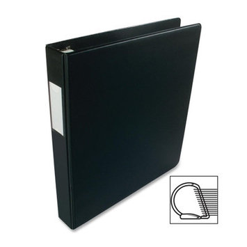 Business Source Slanted D-Ring Binder - 3 Capacity - 1 - Red