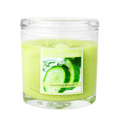 Fragranced in-line Container CC008.2177 8oz. Oval Cucumber Fresca