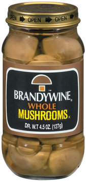 Brandywine Whole Mushrooms 4.5 Oz Jar