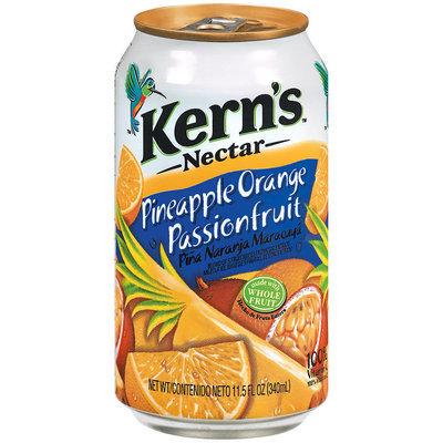 Kern's Pineapple Orange Passionfruit Nectar 11.5 Fl Oz Can