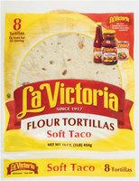La Victoria® Soft Taco Flour Tortillas 16 oz. Bag