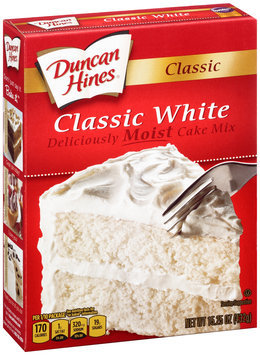 Duncan Hines® Classic White Cake Mix 15.25 oz. Box