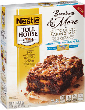 Nestlé® Toll House® Brownies & More Chocolate Baking Mix With Butterfinger Baking Bits