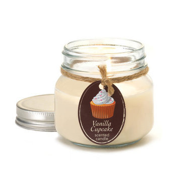 Vanilla Cupcake Mason Jar Candle By Orchard Village