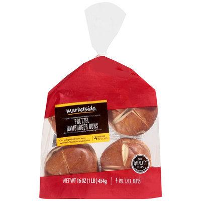 Marketside™ Pretzel Hamburger Buns 16 oz. Bag