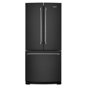 Maytag MFF2055DRE 19.6 Cu. Ft. Black Ice French Door Refrigerator
