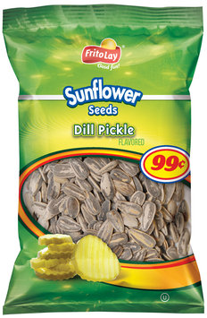 Frito Lay® Dill Pickle Flavored Sunflower Seeds 4.25 oz. Bag