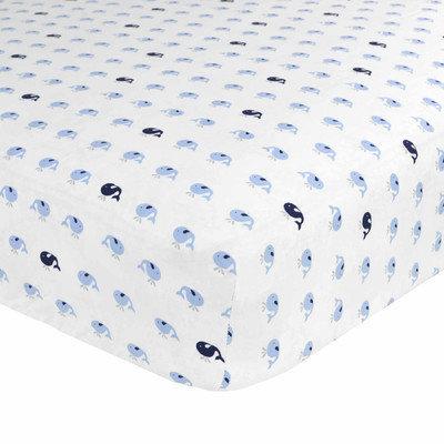 Just Born Sleep Well Jonah Fitted Crib Sheet