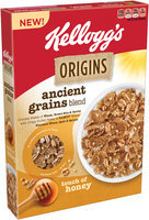 Kellogg's Origins™ Ancient Grains Blend Touch of Honey Cereal 11.8 oz. Box