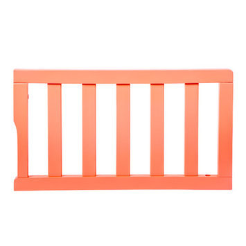 Dream On Me Universal Convertible Crib Toddler Guard Rail Finish: Fusion Coral