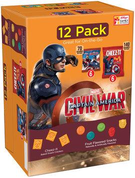 Kellogg's® Marvel Civil War Captain America Fruit Flavored Snacks/Crackers 10.92 oz. Box