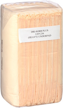 UFP-236 Attends® Dri-Sorb Plus Underpads with Polymer 23 in. x 36 in., 10 count