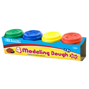 BAZIC 5 Oz. Multi Color Modeling Dough (2/Pack)(Case of 36)