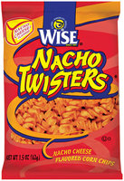 Wise Nacho Twisters Cheese Flavored Corn Chips