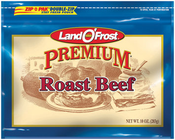Land O' Frost Premium 10 Oz Deli-Pouch Roast Beef