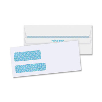 Business Source Packing List Envelopes Double Window Envelopes, No. 9