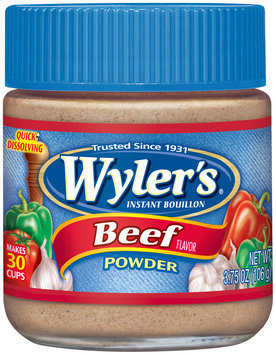 Wyler's® Beef Flavor Instant Bouillon Powder 3.75 oz. Jar