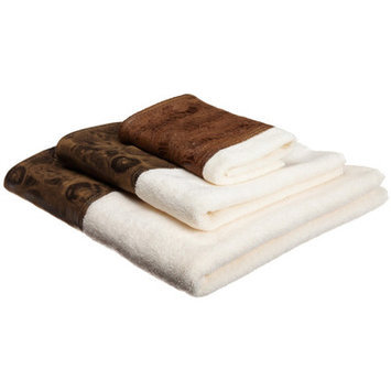 Sweet Home Collection Zambia 3 Piece Towel Set