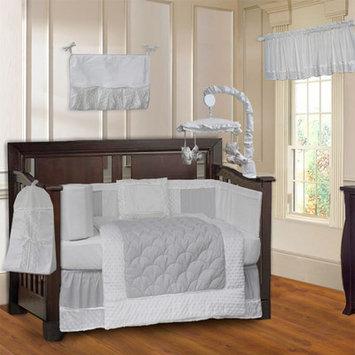 Babyfad Minky 10 Piece Crib Bedding Set