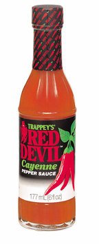 Trappey's Red Devil Cayenne Pepper Sauce 6 Oz Glass Bottle