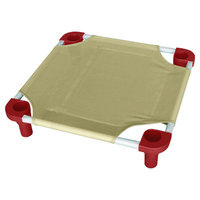 Mahar Replacement Lace-Up Cover Fabric Color: Tan, Size: Large - 40